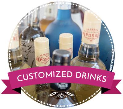 customized drinks